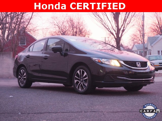 Certified Pre Owned 2014 Honda Civic Ex 4d Sedan In Dearborn 18