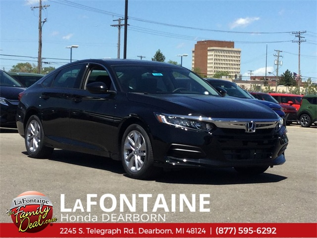 New 2019 Honda Accord LX 1.5T Automatic