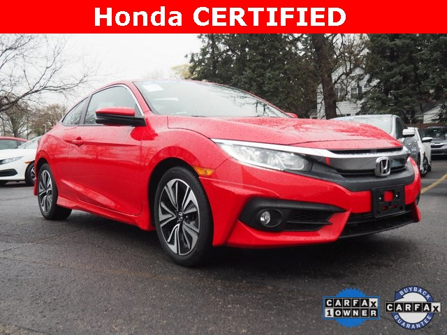 Certified Pre-Owned 2018 Honda Civic EX-T